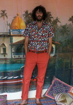 TukTuk Delivers Bright Mens Print Shirts + Tees  image TukTuk Printed Mens Shirts Spring Summer 2014 Collection 002