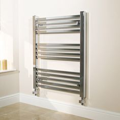 Square Heated Towel Rails - Modern, Wall Mounted Towel Rail Range