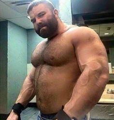 Hot muscle gay bears