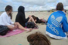 beach @renesse madera