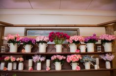 Consider incorporating a French flower market for guests to create their own arrangements as a wedding favor and a colorful farewell at The Ritz-Carlton, Buckhead.