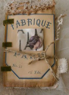 Paris fashion book.