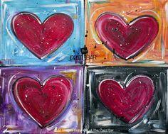 Four Hearts www.thepaintbar.com