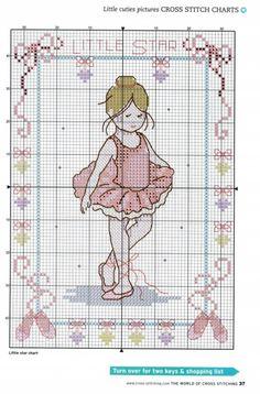 Little Star Ballerina chart