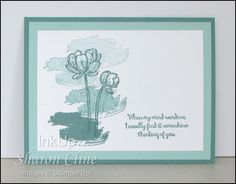 View My Mind Wanders Image · InkUp - Sharon Cline, Independent Stampin'Up! Demonstrator, Purcellville Virginia