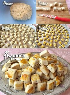 Sirkeli Çörek Otlu Minik Kurabiye Tarifi: Cupcake Cookies, Cupcakes, Cookie Recipes, Dessert Recipes, Biscuits, Easy Cake Decorating, Turkish Recipes, Nutella, Cute Food
