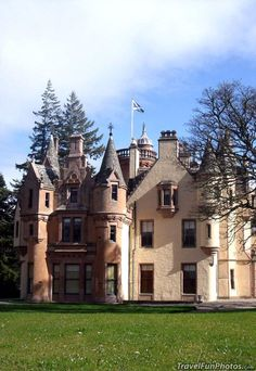 Aldourie Castle in Iverness, Scotland