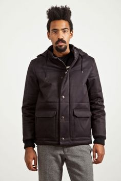 A.P.C. Hooded Down Jacket