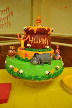 Winnie the Pooh Party- Birthday Cake