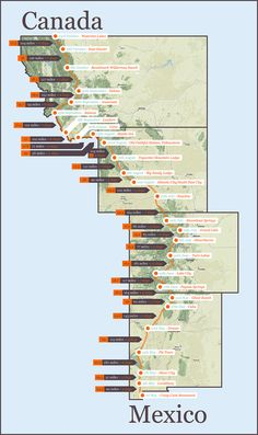 continental divide trail maps | Continental+divides