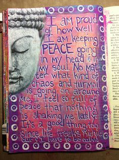 inner peace calms any storm!
