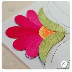 Applique Quilt Patterns, Hand Applique, Wool Applique, Embroidery Applique, Bear Patterns, Embroidery Designs, Applique Designs, Tutorial Applique, Quilting Projects