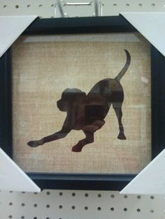 dog silhouette photo $15.99