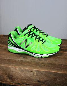58621c5942f New Balance M890 Lumo Green Trainer Tênis Trainer Verdes