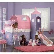 Image result for bunk bed with canopy