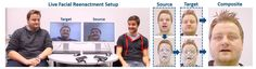 Real-Time Video Software Puts Someone Else's Facial Expressions On Your Face  #weirdscience