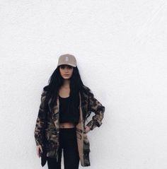 oversized camo jacket