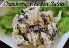 Easy Chicken Recipes – Cranberry Chicken Salad