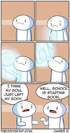 Theodd1sout :: School Spirit  | Tapastic Comics - image 1