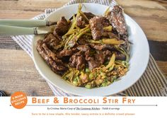 Beef & Broccoli Stir-fry from The Paleo AIP Instant Pot Cookbook