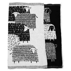 Lapuan Kankurit Päkäpäät Black Tea Towel