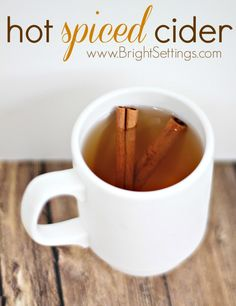 This looks so good for a chilly day!! Cool Weather, Warm Drinks