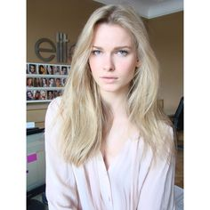 Karolina Mrozkova ❤ liked on Polyvore featuring models, people, blonde, girls and hair