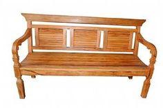 banco rústico veneziana em madeira de demolição