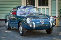 1958 Fiat Abarth 750 Zagato by Vintage Sports Cars via sportscarshop.com