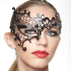 Phantom Of The Opera Inspired Masquerade Mask