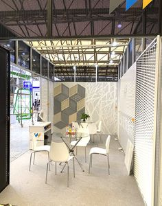 metal ceiling and facade design Expanded Metal Mesh, Metal Facade, Metal Ceiling, Facade Design, Furniture, Home Decor, Metal Roof, Decoration Home, Room Decor