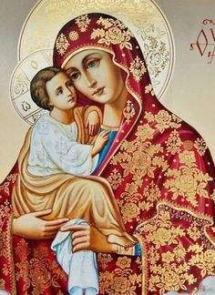 TheMauveRoom, Some beautiful ikons of Our Lady. Jesus And Mary Pictures, Images Of Mary, Mary And Jesus, Divine Mother, Blessed Mother Mary, Blessed Virgin Mary, Religious Images, Religious Icons, Religious Art
