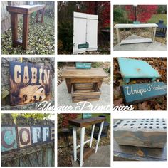 Unique Primtiques Custom Woodworking www.etsy.com/shop/uniqueprimtiques, over 1800+ items custom made to the size and coloring you need!