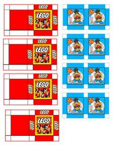 Toy shop boxes, Lego