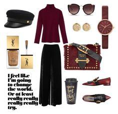 """Classical Style"" by julia-jouristika on Polyvore featuring мода, M Missoni, Gabriela Hearst, Prada, Henri Bendel, Rebecca Taylor, Skagen, Slant и Yves Saint Laurent"
