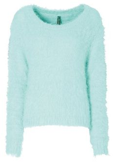 MS Mode chenille trui pauw blauw | wehkamp