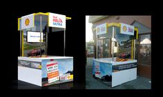 booth for shell