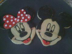 Mickey y Minnie cookies