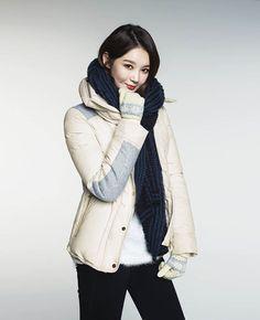 Davichi Kang Min Kyung for G by Guess Winter 2014