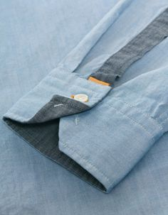 Blue Cliffe Oxford Shirt Buy the Latest Brand Men Casual Shirts and Online Business Formal Shirt at fashion cornerstone. Discounts all season long. Shirt Cuff, Denim Shirt, Formal Shirts, Casual Shirts, Hugo Boss Orange, Tailored Shirts, Men Design, Collar And Cuff, Mode Style