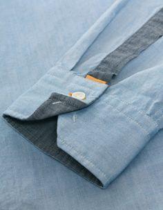 Blue Cliffe Oxford Shirt