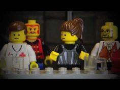 Lego-pääsiäistarina ehtoollinen - YouTube