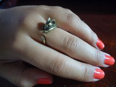 Retro Cute Mouselet Ring