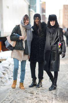 New York State of Mind: Street Style via harpersbazaar
