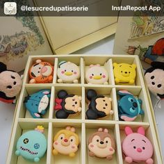 These macaroons look like Disney tsum tsums!