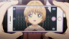 Cardcaptor Sakura Clear Card: Sakura selfie!!!