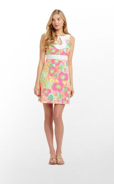 While digging around our vintage vault, we discovered dresses from Lilly  Just bought this for one of my girls....hope she likes it! :)