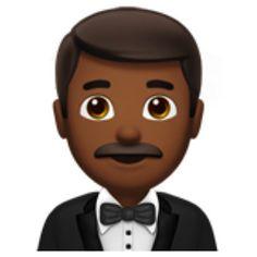 Man In Tuxedo Medium Dark Skin Tone Emoji U 1f935