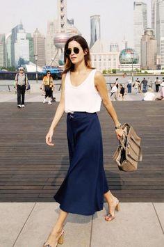 Sommerliche Business Looks - jetzt auf gofeminin.de http://www.gofeminin.de/styling-tipps/tops-kombinieren-s1455726.html #businessasusual #businesslooks #businessoutfits #büromode #ootd #büro #sommer #style