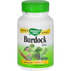 Nature'S Way Burdock Root Og3 100 Cap *** This is an Amazon Affiliate link. Learn more by visiting the image link.